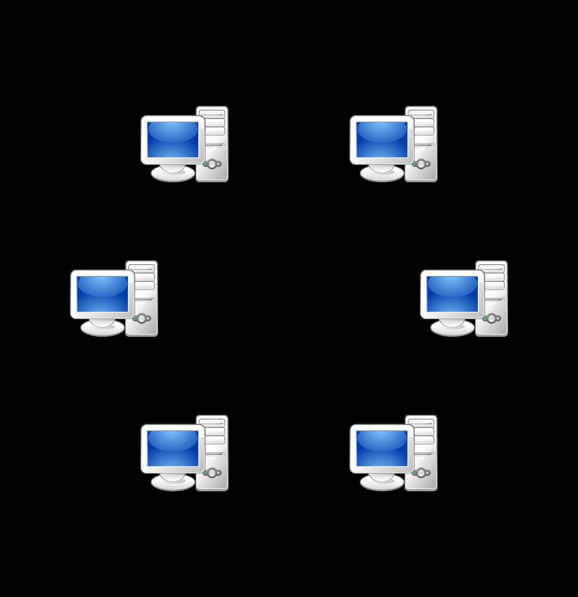Network Diagram Clip Art.