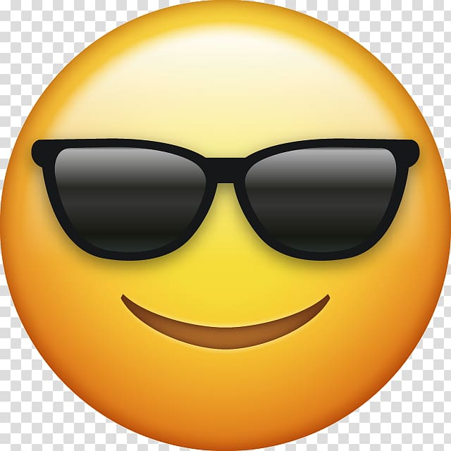 Yellow smiley emoji, Emoji Computer Icons Emoticon , sunglasses.