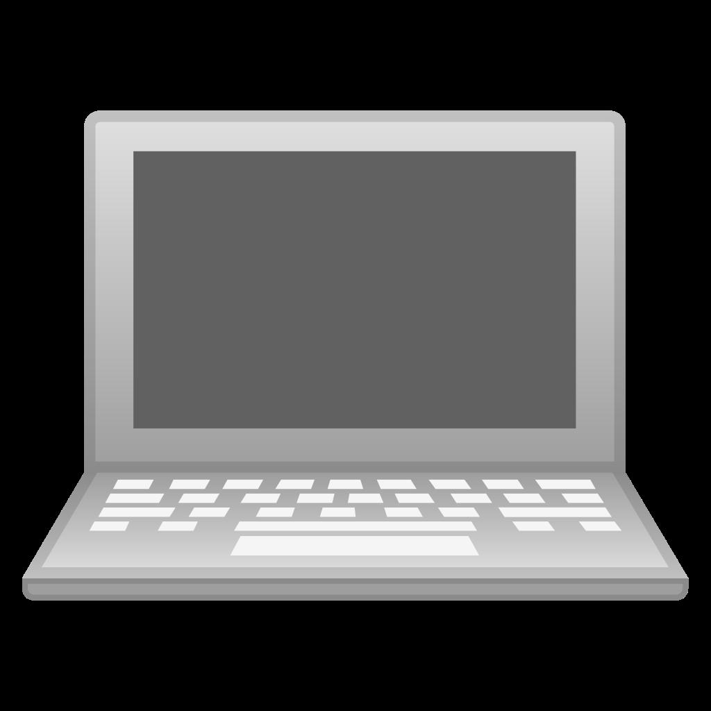 Laptop computer Icon.