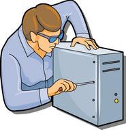 Computer Engineer Clipart.