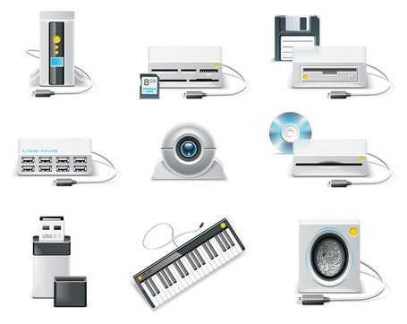 computer equipment icon Clipart Picture Free Download.