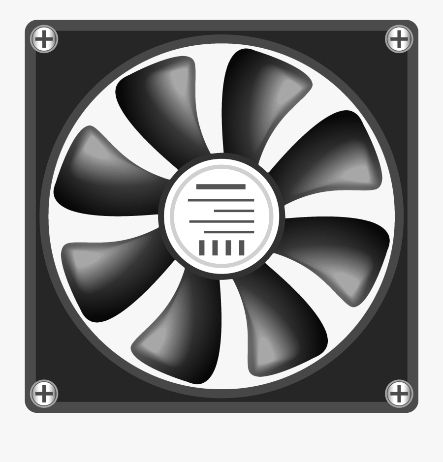 12v Computer Fan Png Clipart.