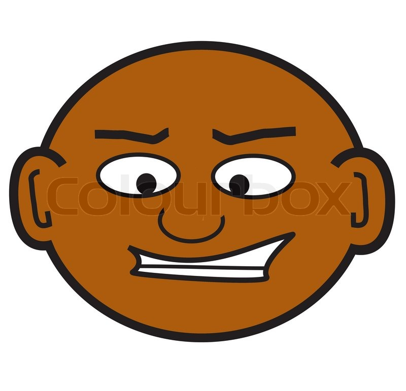 Bald Computer Guy Clipart.