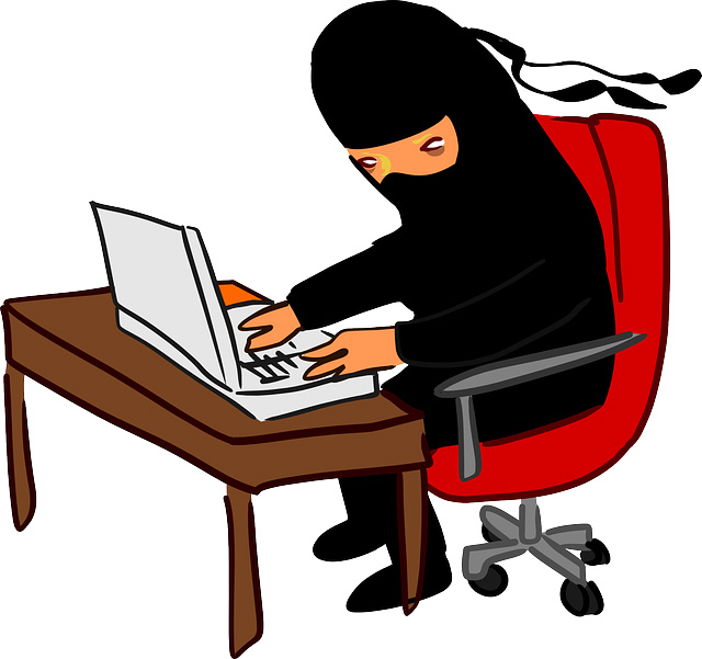 Computer hacker clipart free.