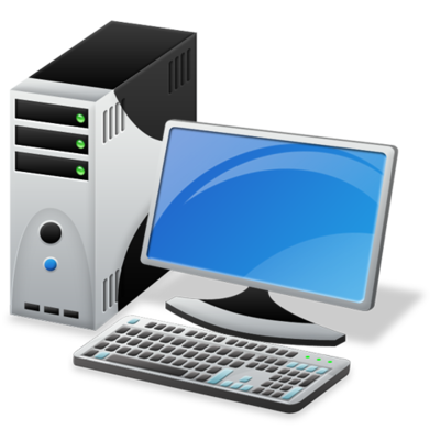 Computer, hardware, pc icon.