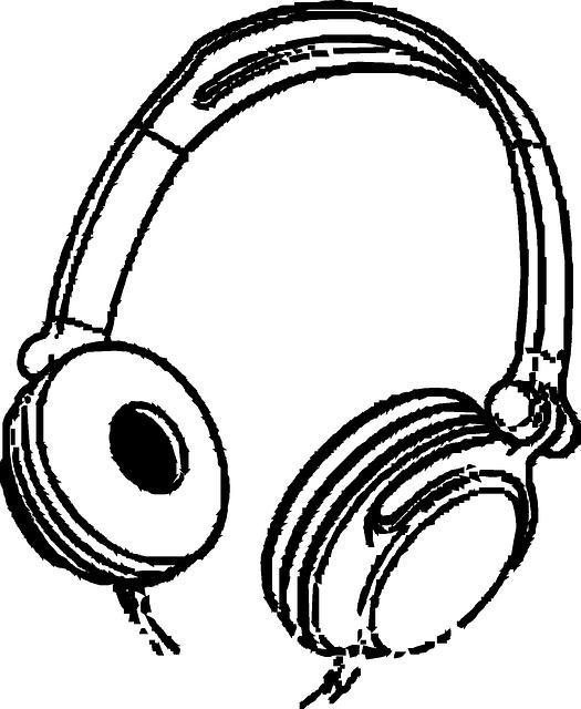 Free vector graphic: Headphones, Music, Entertainment.