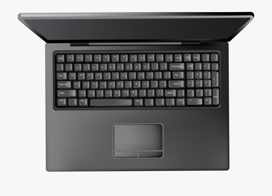 Laptop Keyboard Clipart.