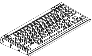 2145 computer keyboard clip art free.