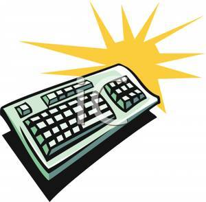 Free computer keyboard clipart 4 » Clipart Portal.