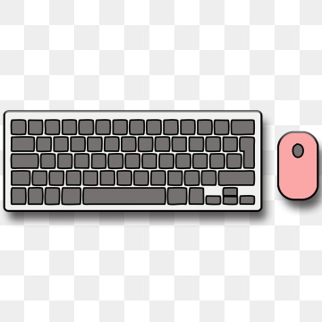 Keyboard And Mouse PNG Images.