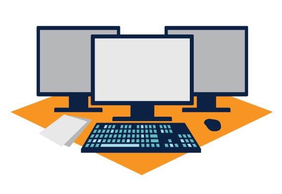 Computer Lab Clipart 8 Station Decent Clip Art Valuable.