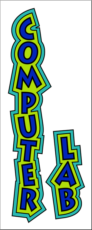 Clip Art: Computer Lab Color 2 I abcteach.com.