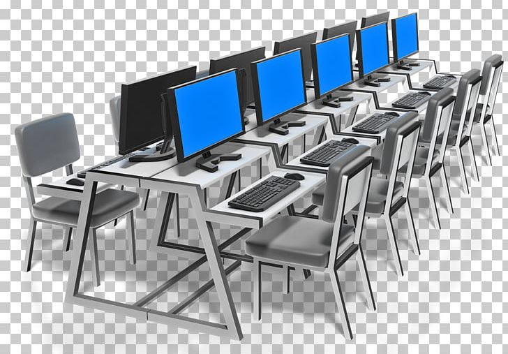 Computer Lab Presentation PNG, Clipart, Angle, Chair, Classroom.