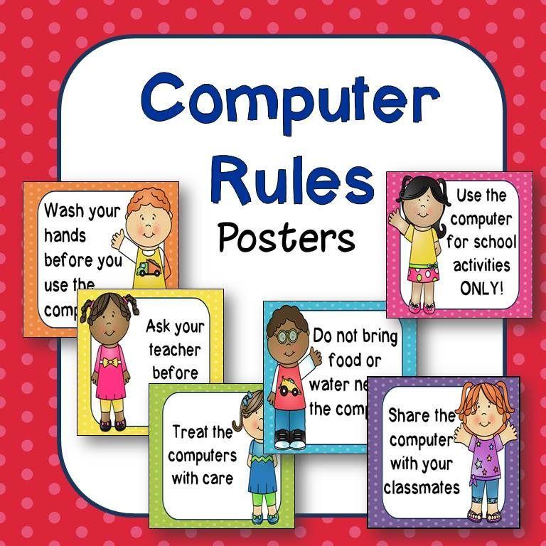 Computer lab rules clipart 5 » Clipart Portal.