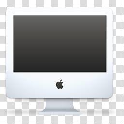 Talvinen, white Power Mac computer transparent background.