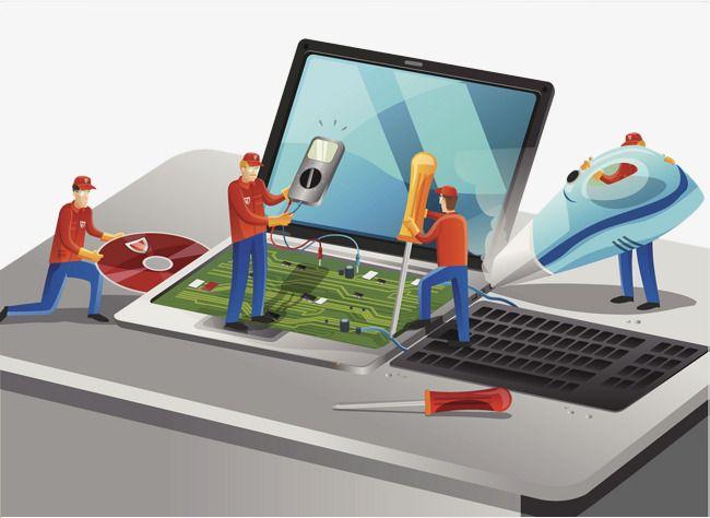 Computer Maintenance Illustrations in 2019.