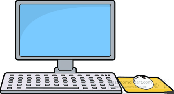 Keyboard And Mouse Clipart.