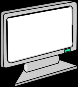 Computer Monitor Clip Art.