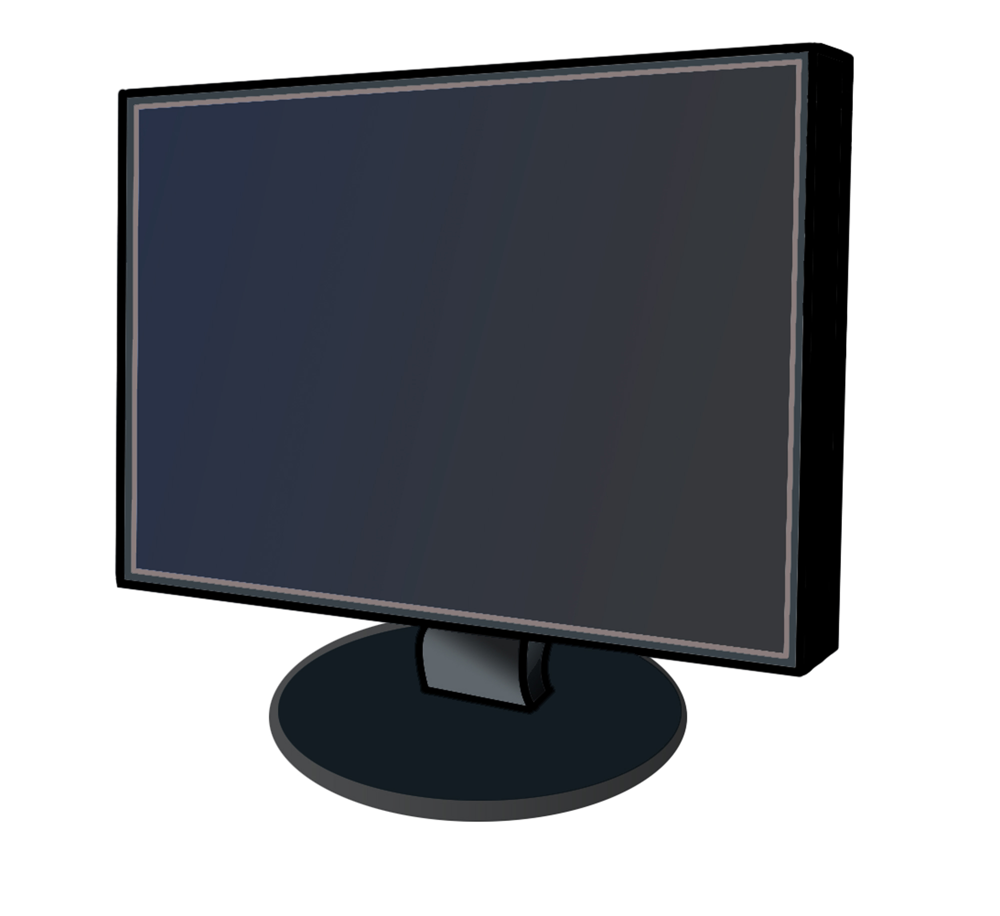 Clipart computer monitor.