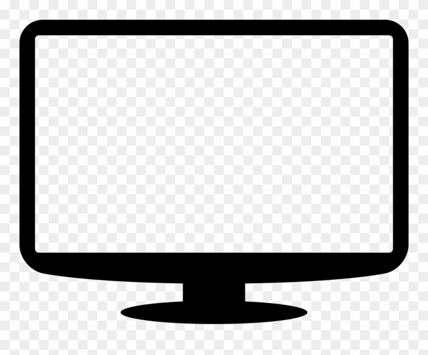 Monitor Symbol Svg Png Icon Free Download Ⓒ.