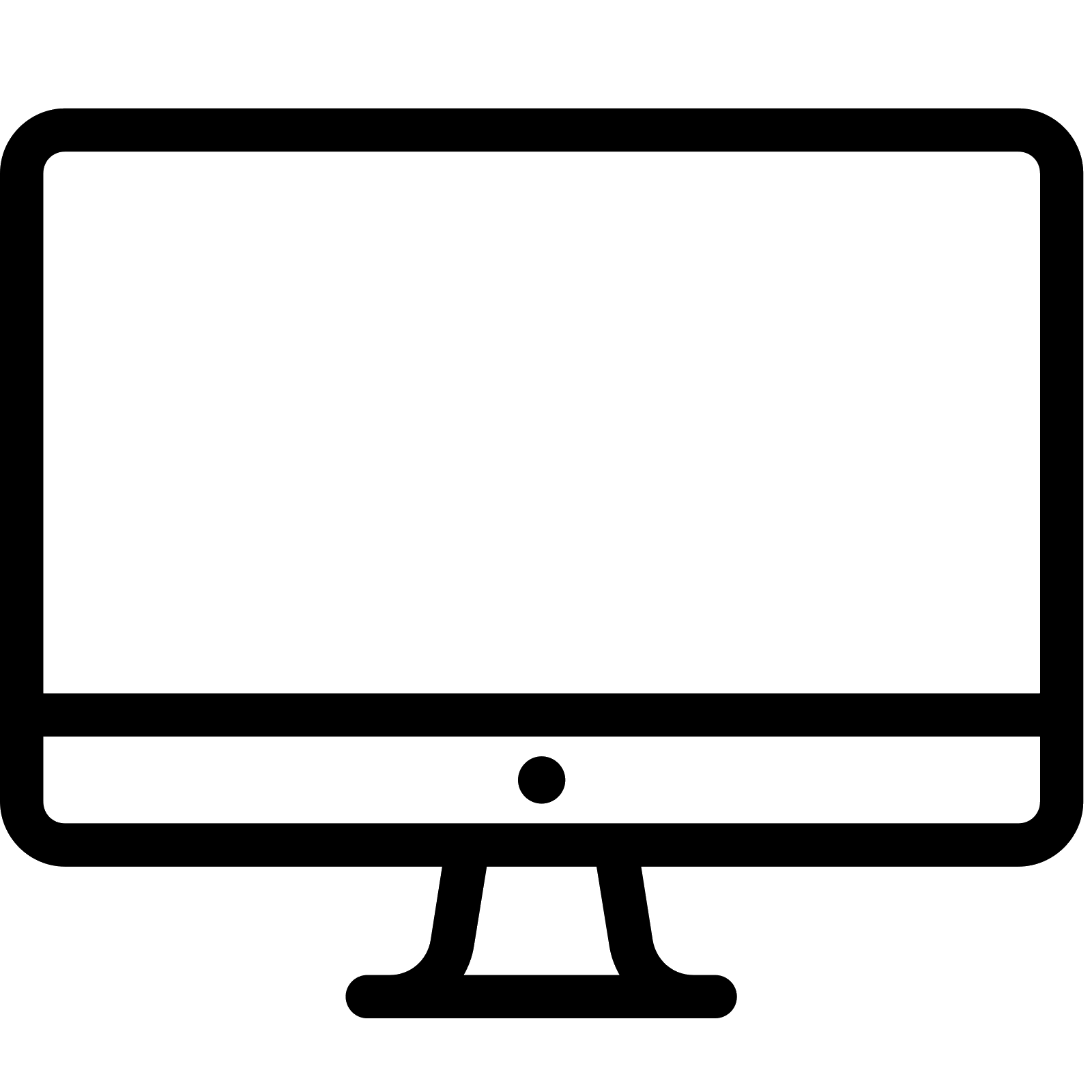Computer Screen Icon Png #239841.