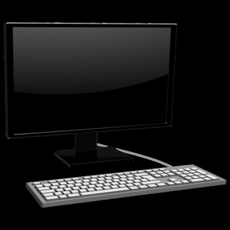 Laptop,Computer Monitor,Desktop Computer Vector Clipart.