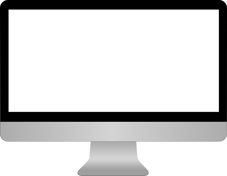 Monitor PNG Transparent Images.