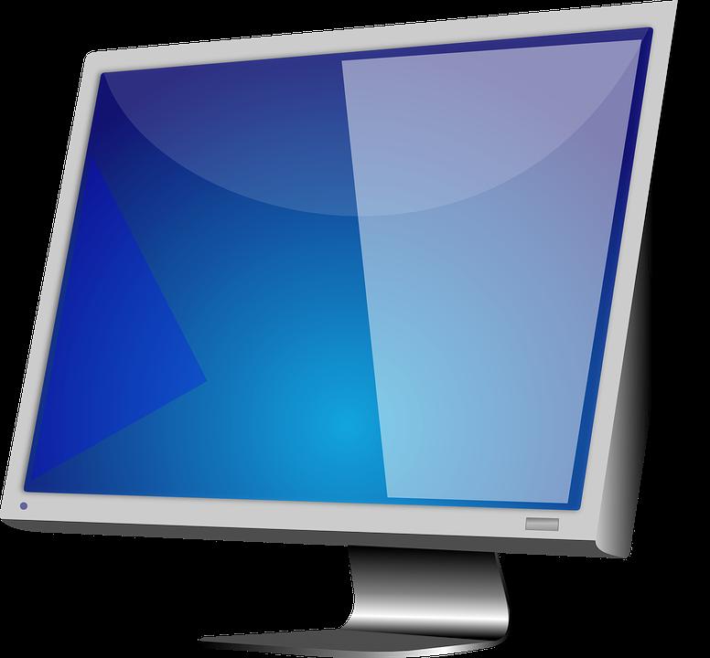 Monitor Display Computer.
