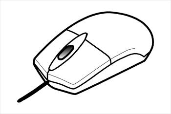 Computer Mouse Clipart.
