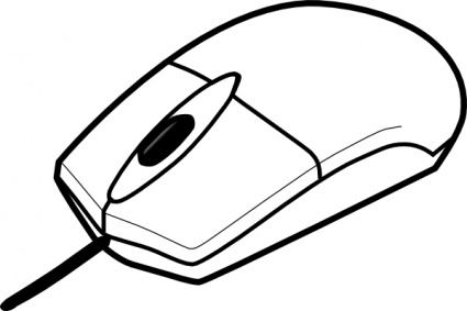 Computer mouse clipart free clipart images.