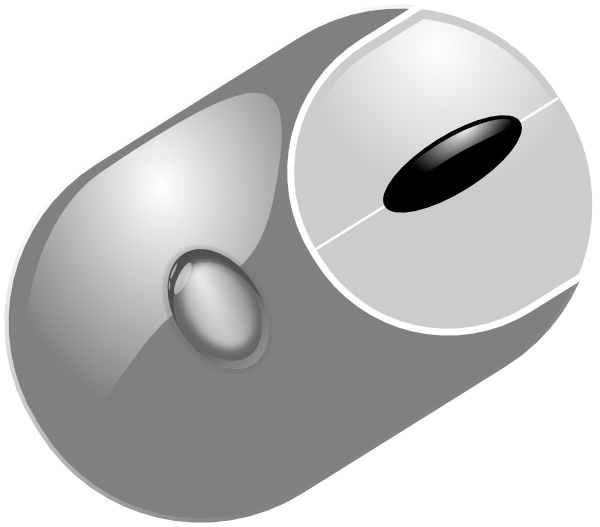 Computer Mouse clip art (116380) Free SVG Download / 4 Vector.