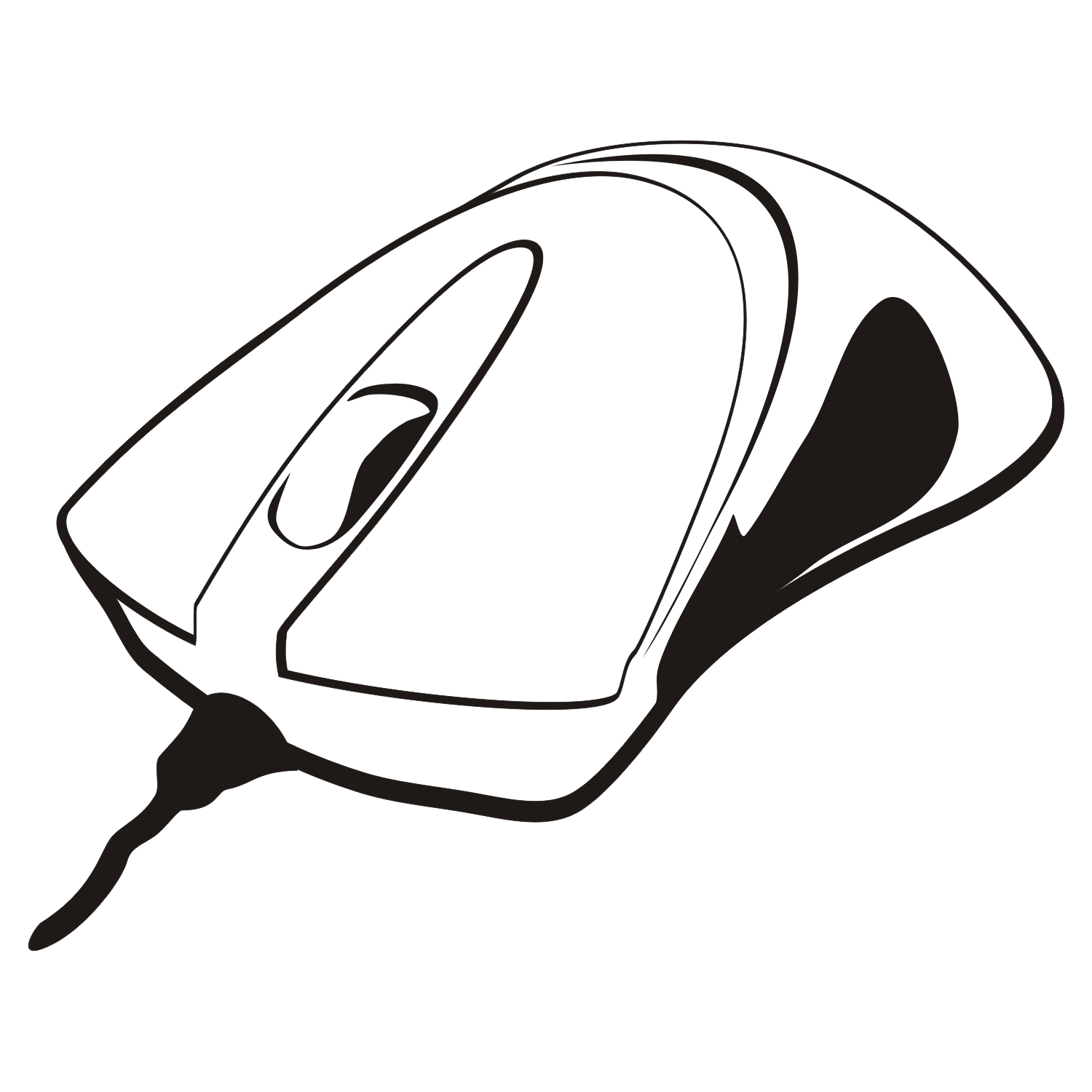 Computer Mouse Vector.