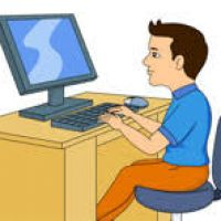 Computer operator clipart 3 » Clipart Station.