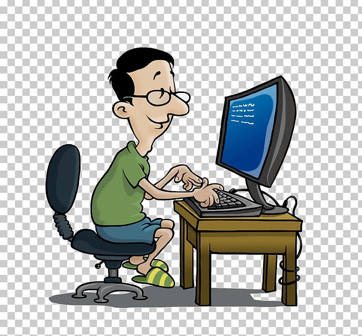 Computer Job PNG, Clipart, Cartoon, Comm, Computer, Computer.