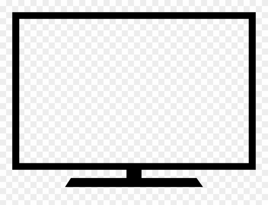 Free Download Outline Images Of Monitor Clipart Computer.
