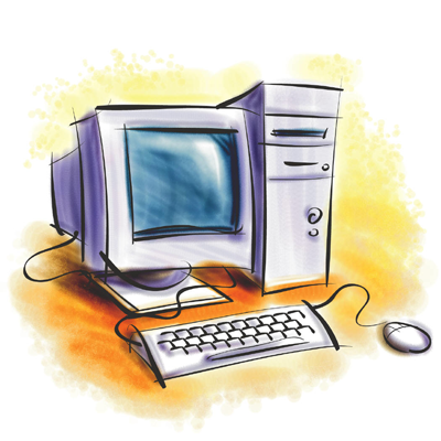 Computer png clipart 8 » Clipart Station.