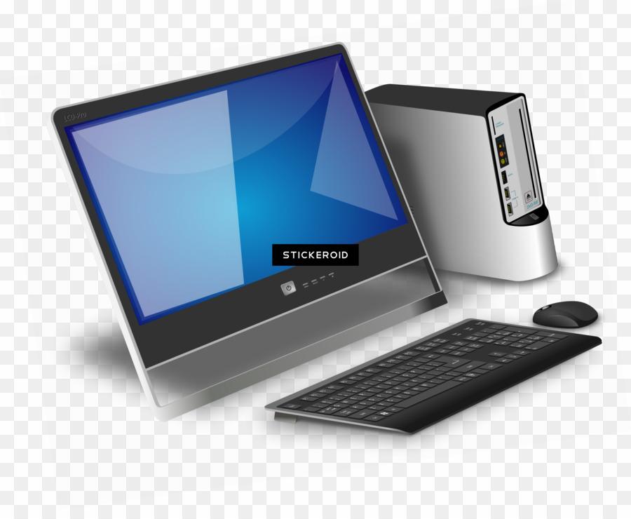 Desktop Computer PNG Computer Keyboard S Clipart download.