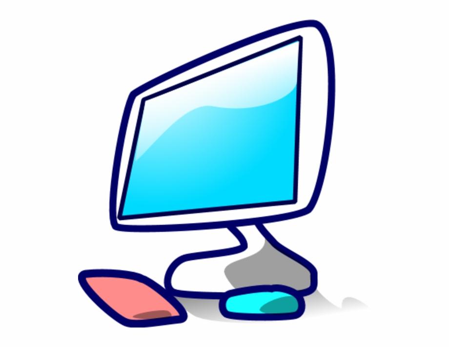 Technology Computer Screen Mouse Icon Vector Clip.