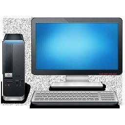 Computer desktop PC Clipart PNG.