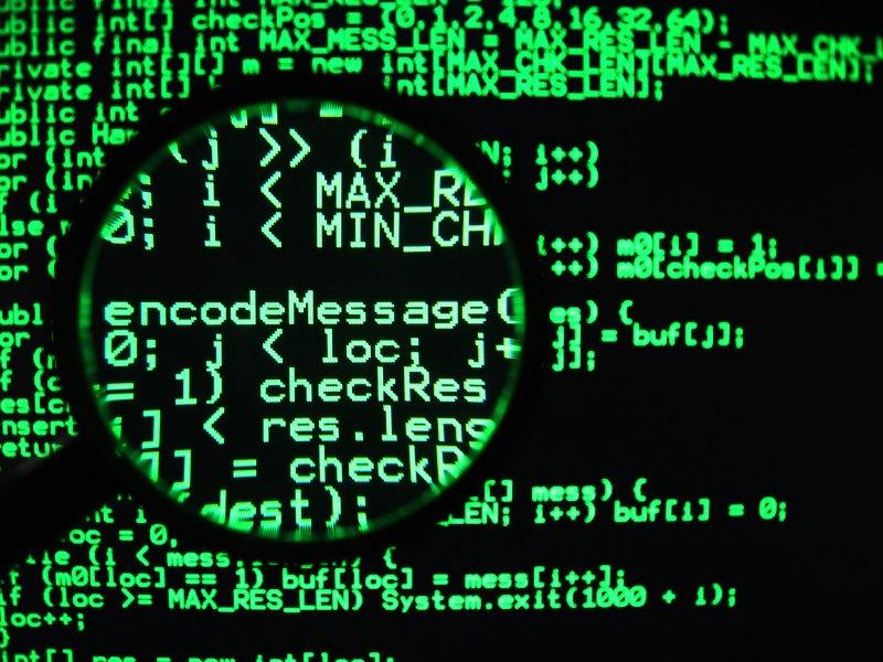 Computer Code Clipart.