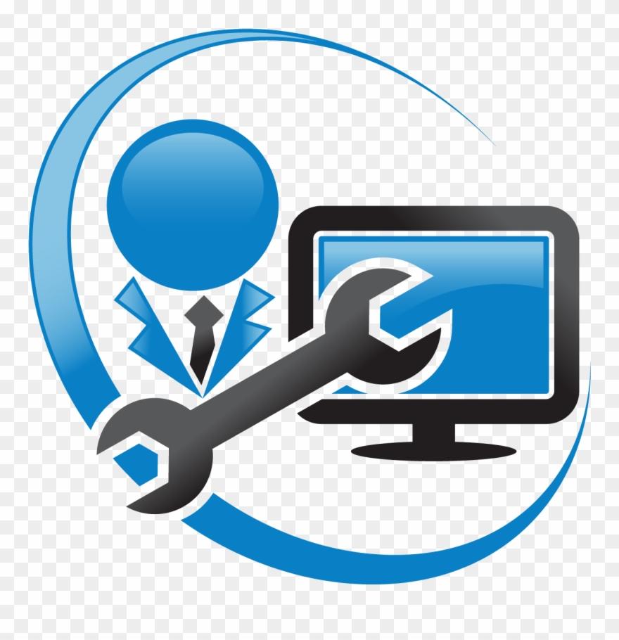 Images For Computer Repair Logo Clip Art.