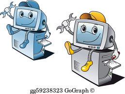 Computer Repair Clip Art.