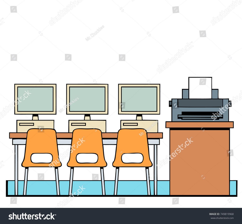 School computer room clipart 5 » Clipart Portal.