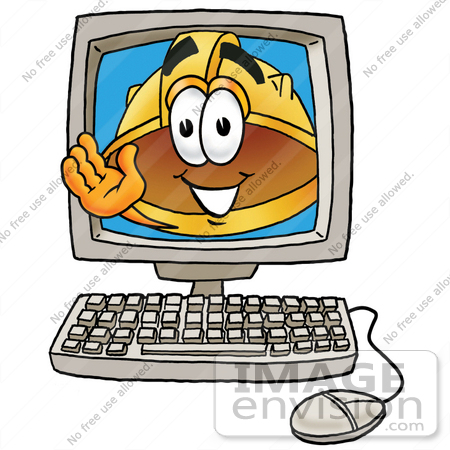 Computer Safety Clipart.