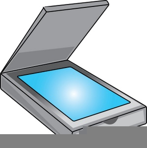 Computer Scanner Clipart.