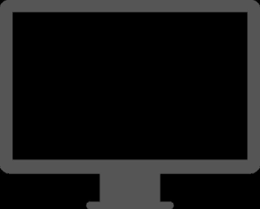 Screen Desktop Computer.