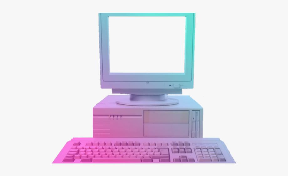 Vaporwave Clipart Computer Png.