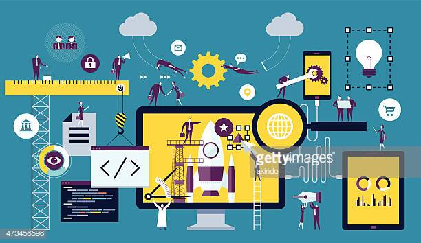 60 Top Computer Software Stock Illustrations, Clip art, Cartoons.