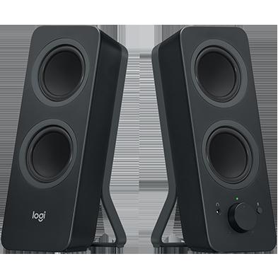 Speakers, Stereo Speakers, External Speakers.