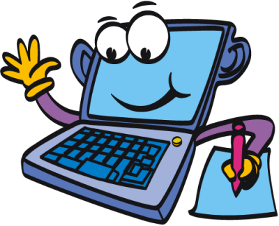 Computer system clipart #6